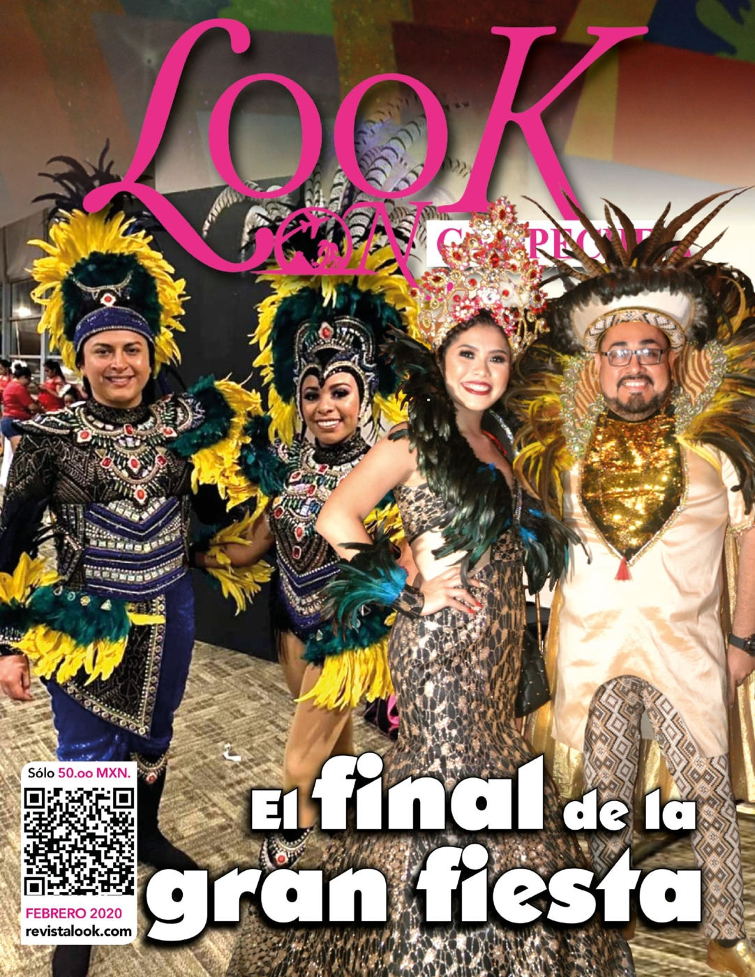 Revista Look On Campeche Febrero 2020